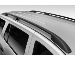 Рейлинги Renault Kangoo 1997-2008 /Черный /Abs DDTS (DDCNR73)