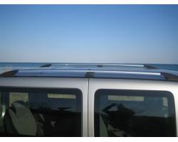 Рейлинги Fiat Doblo 2000-2010;2010- /длинн.база /Хром /Abs DDTS (DDCNR15)