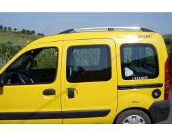 Рейлинги Renault Kangoo 1997-2008 /Хром /Abs DDTS (DDCNR74)