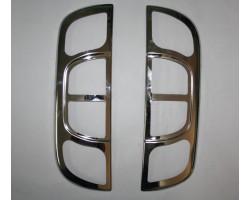 Накладка на стопы Citroen Nemo/Fiat Fiorino/Peugeot Bipper -2008 2шт Carmos (64545684)
