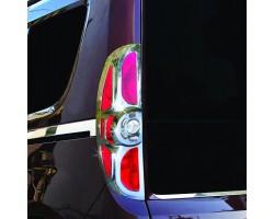 Накладка на стопы Fiat Doblo/Opel Combo 2010-2015 2шт Carmos (6455096)