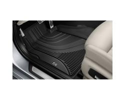 Ковры салона BMW 5 (G30) 2017-,с бортом задние 2шт BMW (51472446336)