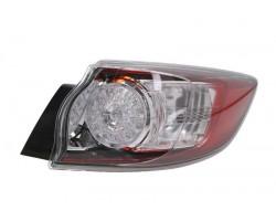 Отражатель заднего бампера Mazda 3 Hb 2009-2013 правый внешний LED 216-1981R-UE Depo
