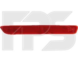 Отражатель заднего бампера Mazda 6 (GH) 2007-2010 левый Sport 3476 F15-E FPS