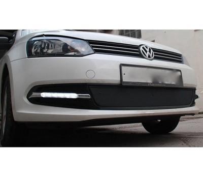 Ходовые огни VW Polo Sedan 2011- (для авто без ПТФ) AVTM (LED1326)