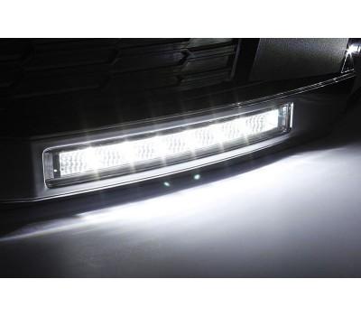 Ходовые огни VW Polo Хетч 2011- (для авто с ПТФ) AVTM (LED1266)