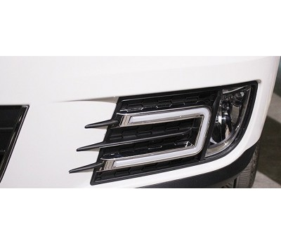 Ходовые огни VW Tiguan 2013- V2 AVTM (LED1358)