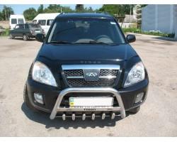 Защита переднего бампера (кенгурятник) Chery Tiggo (2006-2012) Can Otomotiv (CYTI 35.0046)