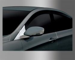 Накладка на уголок под зеркало Hyundai Accent (2011-) Clover (AC B429)