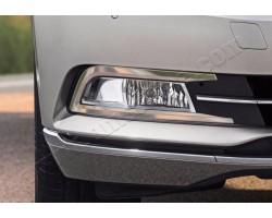 Накладки на противотуманки 2шт Volkswagen Passat B8 (2014-) OMSALINE (7545103)