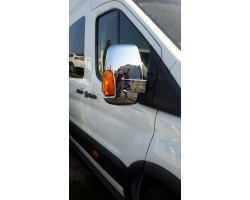 Накладки на зеркала (пластик) 2шт Ford Transit (2014-) Carmos (6450525)