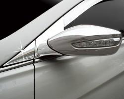 Накладка на уголок под зеркало 6шт Hyundai Sonata (2009-2015) Clover (AC B410)