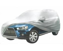 Тент автомобильный MILEX JEEP PEVA + PP Cotton XXL серый зеркало замок (99165)