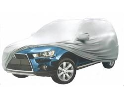 Тент автомобильный MILEX JEEP PEVA + PP Cotton М серый зеркало замок (99162)
