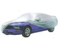 Тент автомобильный MILEX PEVA + PP Cotton L серый зеркало замок (99160)