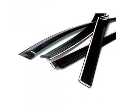 Дефлекторы окон (ветровики) Ssang Yong Kyron 2006-2013 темные 4 шт. Autoclover (AC A086)