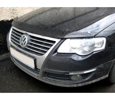 Дефлектор капота (мухобойка) Volkswagen Passat 2006-2010 темный EGR (SG4828DS)