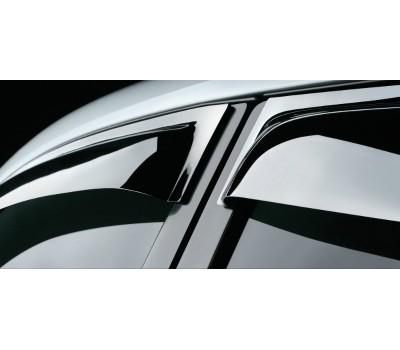 Дефлекторы окон (ветровики) Mazda 3 седан 2003-2008 темные передние 4 шт. EGR (92450021B)