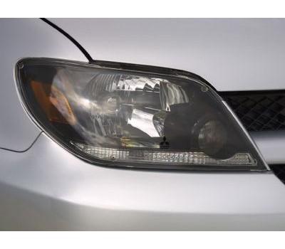 Защита фар Mitsubishi Outlander 2005-2006 прозрачная EGR (226150)