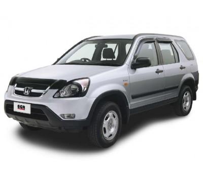Дефлекторы окон (ветровики) Honda CRV 2002-2006 темные 4 шт. EGR (92434015)
