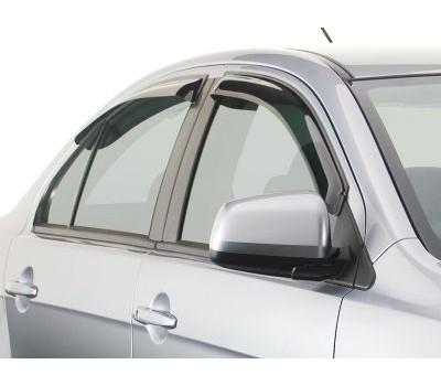 Дефлекторы окон (ветровики) Mitsubishi Lancer 2007- темные 4 шт. EGR (92460030B)