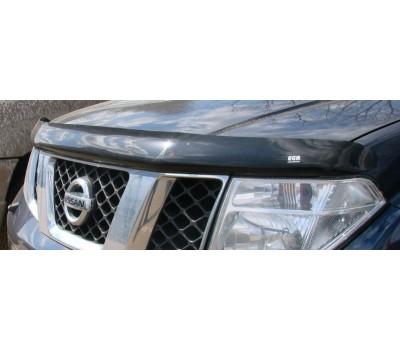 Дефлектор капота (мухобойка) Nissan Pathfinder 2005 - 2009 темный EGR (27151)