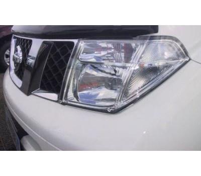 Защита фар Nissan Pathfinder 2005-2009 карбон EGR (227150CF)