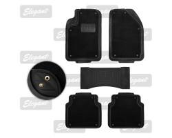 Ковры ALL-SEASONS 5 шт комплекте чорные EL 215016