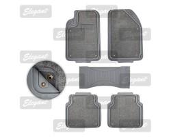 Ковры ALL-SEASONS 5 шт комплекте серые EL 215017
