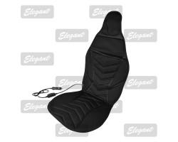 Накидка на сиденье Elegant с подогревом черная 12V 35/45W размер:117*50см EL 100 572