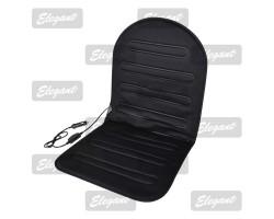 Накидка на сиденье Elegant с подогревом черная 12V 35/45W размер:95*46см EL 100 569
