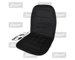 Накидка на сиденье Elegant с подогревом черная 12V 35/45W размер:95*45см EL 100 574