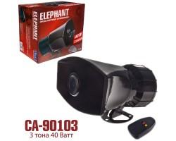 """Сигнал """"Полиция"""" CА-90103 40W 3 тона микрофон"""