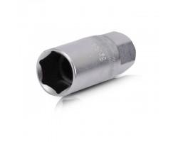 """Головка свечная 1/2"""", 21x65 мм, Cr-V INTERTOOL ET-0007"""