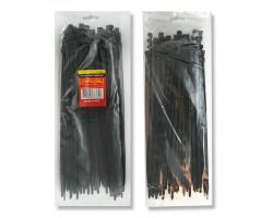 Хомут пластиковый 3,6x250 мм, (100 шт/упак), черный INTERTOOL TC-3626