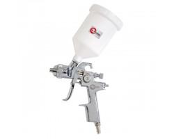 HVLP STEEL PROF Краскораспылитель 1,4 мм, верхний пластиковый бачок 600 мл. INTERTOOL PT-0103