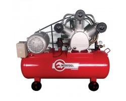 Компрессор 300 л, 20 HP, 15 кВт, 380 В, 8 атм, 2000 л/мин. 3 цилиндра INTERTOOL PT-0052