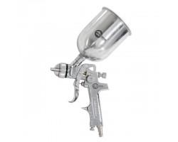 HVLP STEEL PROF Краскораспылитель 1,4 мм, верхний металлический бачок 600 мл. INTERTOOL PT-0109