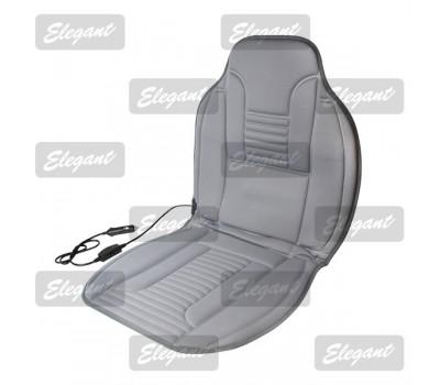 Накидка на сиденье Elegant с подогревом серая 12V 35/45W размер:100*50см EL 100 577