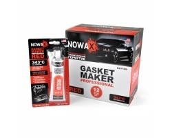 GASKET MAKER RED 85g +343С Высокотемпературный герметик красный NOWAX (NX37309)