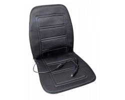 Накидка на сиденье с подогревом черная низкая 12В Дорожная карта