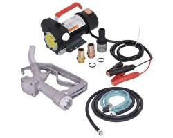 Установка для перекачки дизеля REWOLT RE SL001B-12V (насос, топливный пистолет, шланги) 12в 50л/мин