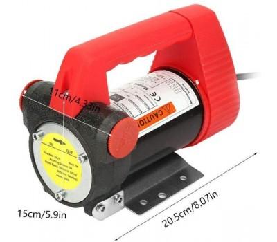 Помповый насос REWOLT для перекачки дизеля 12в 50л/мин RE SL001-12V
