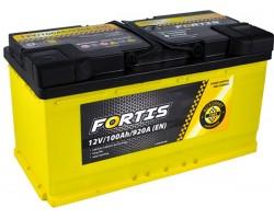 Аккумуляторная батарея 100 Ah FORTIS (0) Euro