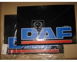 Брызговик 40X60X4 (цветной) с надписью DAF (TEMPEST) 44031044356