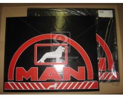 Брызговик 50X60X4 (цветной) с надписью MAN (TEMPEST) TP 95.47.50