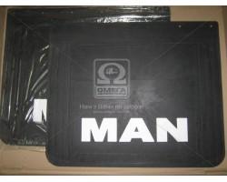 Брызговик 50X60X4 с объемной надписью MAN (TEMPEST) TP 95.47.36
