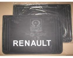 Брызговик 40X60X4 с объемной надписью RENAULT (TEMPEST) 44031044351