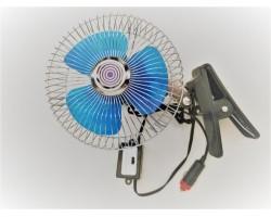Вентилятор автомобильный 6 дюймов (прищепка), 24В Дорожная карта (DK-8210)