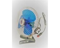 Вентилятор автомобильный 8 дюймов, с переключателем (прищепка), 12В Дорожная карта (DK-8220)